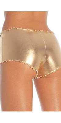 LA2905 Metalic Hot Pants