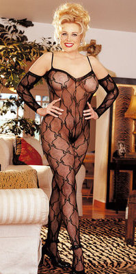 RALingerie.com: SHX96619 Stretch Lace Body Stocking