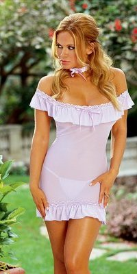DG3857 Off The Shoulder Chemise