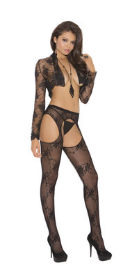 EM1895 Lace Suspender Stockings