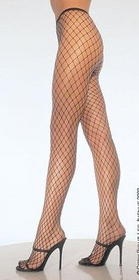 LA9005 Diamond Net Panyhose