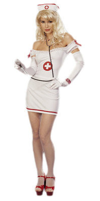 RALingerie.com: SH96832 3 PC NURSE COSTUME SET
